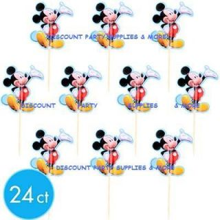 Mickey Mouse Fun PIX Cupcake Picks