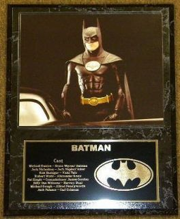 Batman Michael Keaton 15x12 Movie Plaque with Engraving