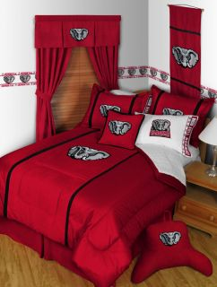 Alabama Crimson Tide Twin Full Queen Comforter Sets MVP