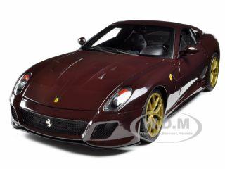 Michael Mann Ferrari 599 GTO Burgundy 1 18 Elite Edition Model Car by