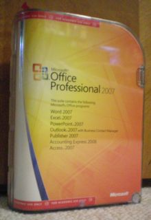 Microsoft Office Professional 2007 Academic Full Version