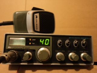Midland 4001 40 Channels CB Radio 1979 Working Condition