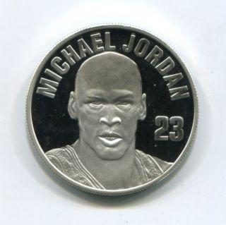 Michael Jordan Upper Deck 1 oz 999 Silver Round