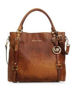 Michael Michael Kors Handbag Bedford Ostrich Tote