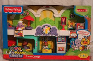 FP Little People Animalville Town Center Playset Toy