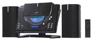 SUPERSONIC MICRO HOME STEREO SYSTEM with  CD PLAYER AMFM RADIO WALL