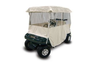 Club Car Golf Cart Winter Enclosure and Seat Covers