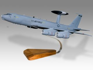 Boeing AWACS E 3 Afmc Desktop Military Airplane Model