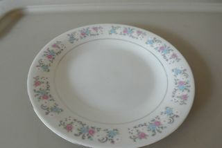 Dynasty Fine China RAPTURE Salad Dessert Plates Floral Dinnerware