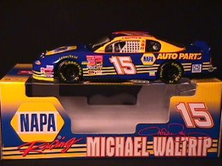 Michael Waltrip 15 2001 Daytona 500 Winner Napa Racing Stock Car Mint