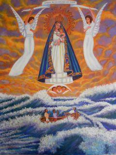 Virgen de La Caridad Del Cobre by Miguel Alfaro