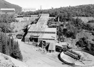King Mining Company Ore Mill Park City West UT 1971 Photo