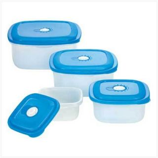 Microwave Vented Lid Storage Plastic Food Containers