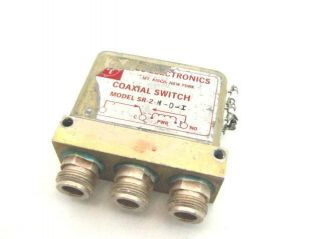 RLC RF Microwave High Power Coaxial Switch 12 4GHz FailSafe Relay 28V