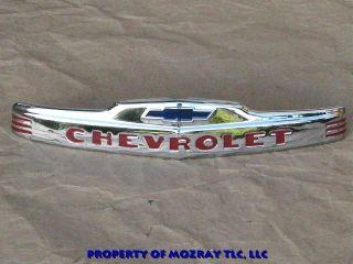 GM Hood Emblem Chevrolet Commercial Truck 1953 1947