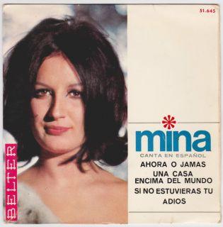 Mina Sing in Spanish Una Casa Encima Del Mundo EP Spanish Belter