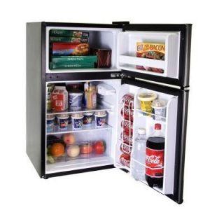 Haier 3 3 Cu FT 2 Door Mini Fridge Freezer Compact Personal Office