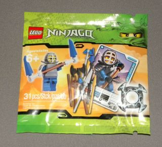 Lego Mini Building Booster Set Ninjago Spinjitzu Minifigure Card Kendo