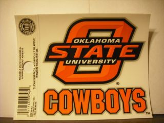State Cowboys Static Cling Sticker NEW Window or Car NCAA Mike Gundy