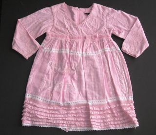 Chasing Fireflies Rosetta Millington pink lace tulle embroidered
