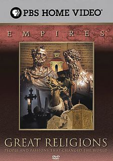 Empires   Great Religions 5 Pack DVD, 2006, 5 Disc Set