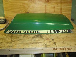 John Deere 318 Hood