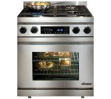 DR30DS Dacor 30 Millennia Dual Fuel Range Stainless