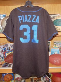 Mike Piazza New York Mets Vintage Jersey Majestic Large