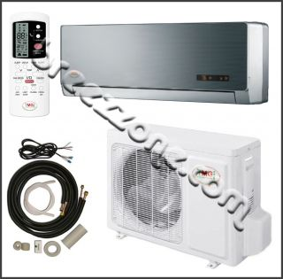 YMGI DUCTLESS MINI SPLIT A/C HEAT PUMP 13 SEER 9000 BTU 3/4 TON, 15FT