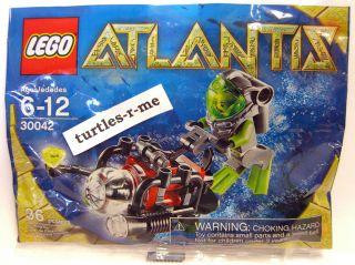 Brand New Lego Atlantis Mini Sub Diver Minifig Aquatic 2010 RARE 30042