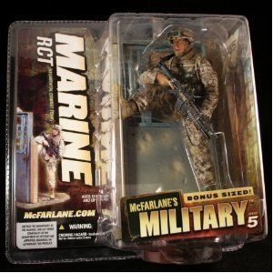 McFarlane Toys MILITARY Series 5 MARINE Regimental Combat Team RCT