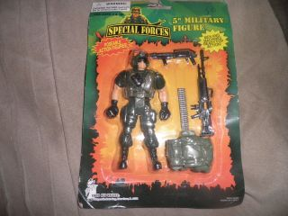 Special Forces 5 inch Military Action Figure