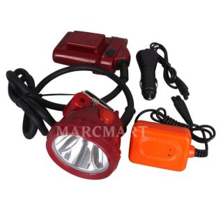 25000LUX LED Miner Head Light Mining Camping Fishing Headlamp IP65