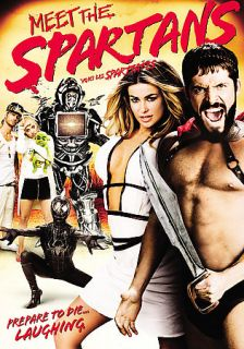 Meet the Spartans DVD, 2008, Canadian