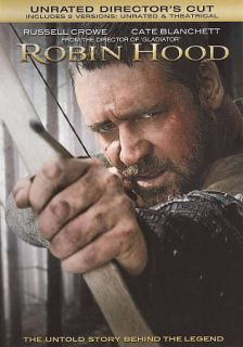 Robin Hood DVD, 2011, With Movie Cash