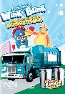 Adventures With Wink Blink   A Day in the Life of a Garbage Truck DVD