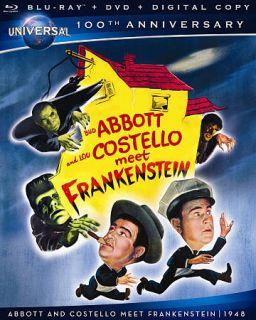 Abbott and Costello Meet Frankenstein Blu ray DVD, 2012, 2 Disc Set
