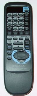 KENWOOD CD MINI STEREO REMOTE CONTROL RC 752 RXD A81 XD A81 NEW A70