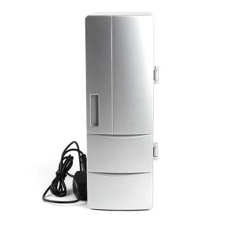 PC USB Mini Fridge Cool Drink Beverage Can Refrigerator