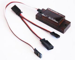 New Rcexl Mini Tachometer for RC Airplane Gas Engines