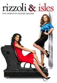 Rizzoli Isles The Complete Second Season DVD, 2012, 3 Disc Set