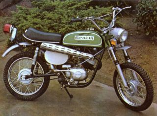 Benelli Mini Enduro 65cc Photo Vintage Mini Bike Minicycle