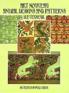 Art Nouveau Animal Designs and Patterns 60 Plates in Full Color by M