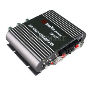 200W Mini Car Motorcycle Stereo Power Amplifier Amp
