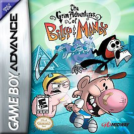 The Grim Adventures of Billy Mandy Nintendo Game Boy Advance, 2006