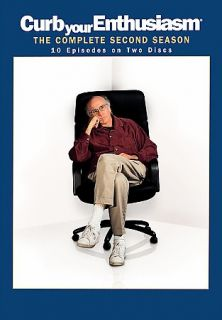 Curb Your Enthusiasm The Complete Second Season DVD, 2004, 2 Disc Set
