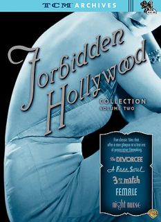TCM Archives   Forbidden Hollywood Collection   Vol. II DVD, 2008, 3