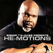 Bishop T.D. Jakes Presents He Motions by T.D. Jakes CD, Jul 2007