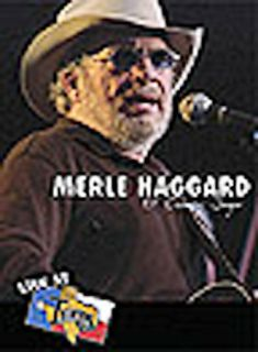 Merle Haggard   Live At Billy Bobs Ol Country Singer DVD, 2004