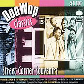 Street Corner Souvenirs Doo Wop Classics CD, Apr 2002, Golden Stars